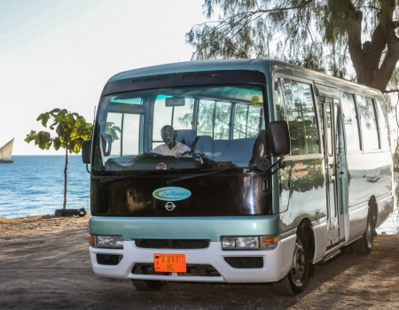 ZanTours vehicle fleet - 22 seater