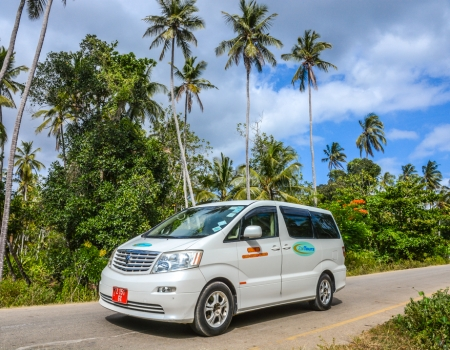 ZanTours vehicle fleet - Toyota Alphard