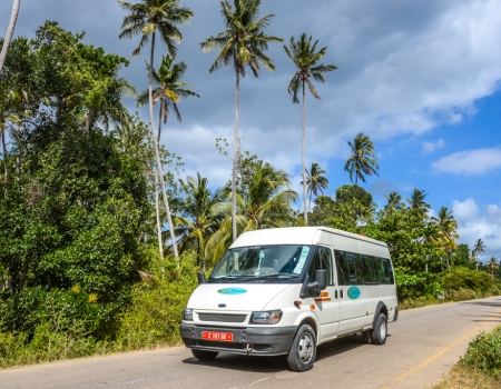 ZanTours vehicle fleet - 14 seater